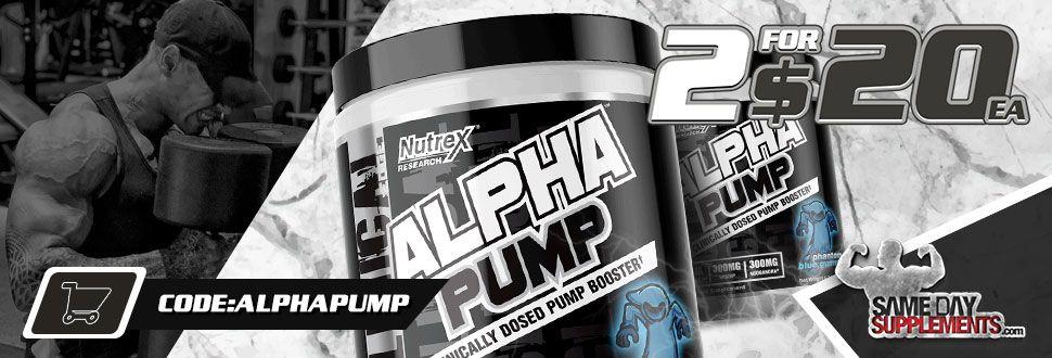 alpha pump nutrex deal