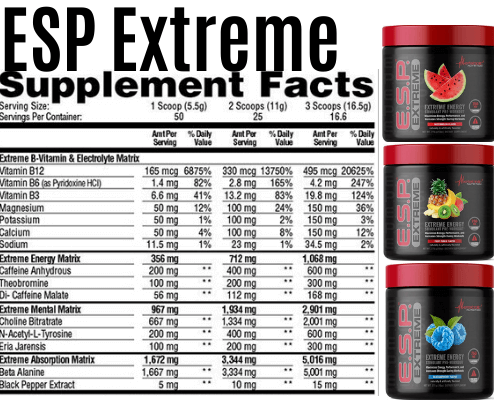 esp extreme best pre workout