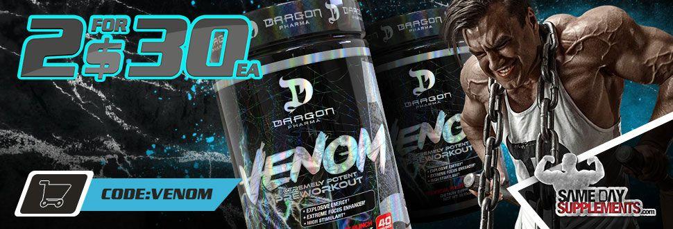 venom dragon pharma deal