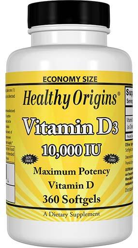 healthy origins vitamin d 3