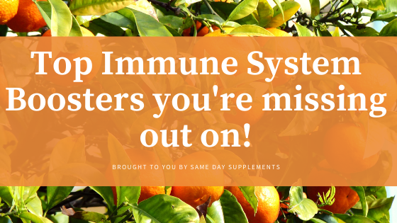 Top Immune System Boosters you're missing out on!