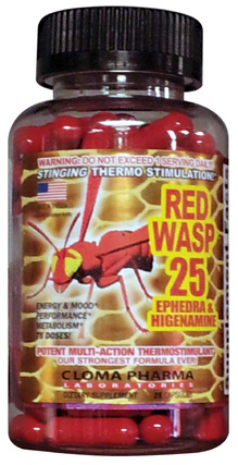 Red Wasp Ephedra pills