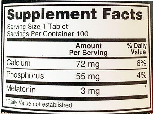 Fatos do suplemento de melatonina ideal