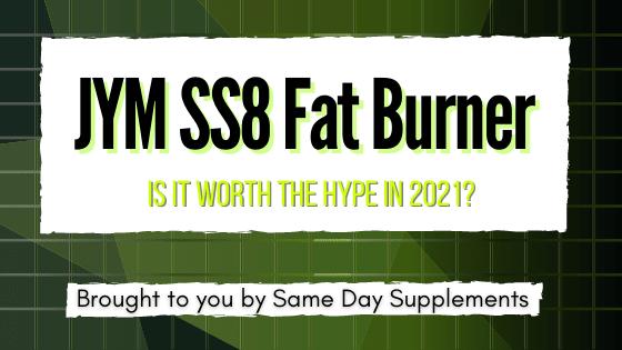 Jym SS8 Fat Burner Banner
