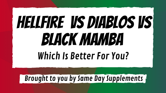 hellfire vs diablos vs black mamba banner