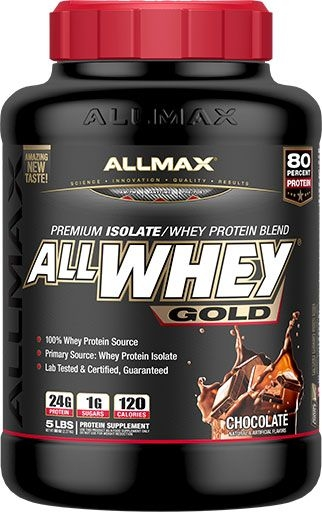 AllWhey Gold, By Allmax Nutrition, Chocolate, 5lb