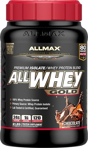 AllWhey Gold, By Allmax Nutrition, Chocolate, 2lb