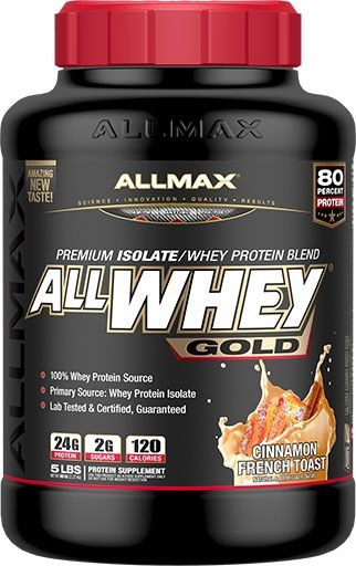 AllWhey Gold, By Allmax Nutrition, Cinnamon French Toast, 5lb