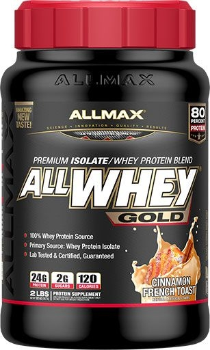 AllWhey Gold, By Allmax Nutrition, Cinnamon French Toast, 2lb