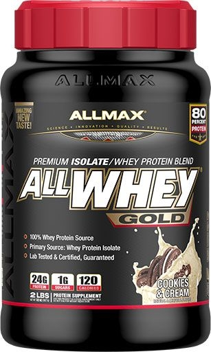 AllWhey Gold, By Allmax Nutrition, Cookies and Cream, 2lb