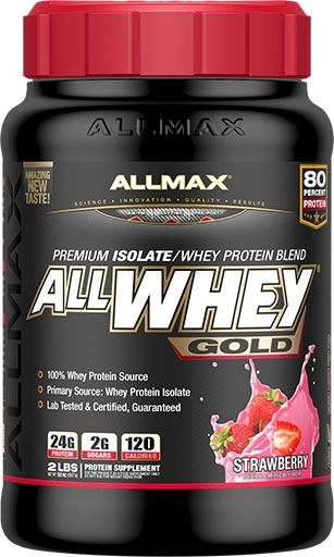 AllWhey Gold, By Allmax Nutrition, Strawberry, 2lb