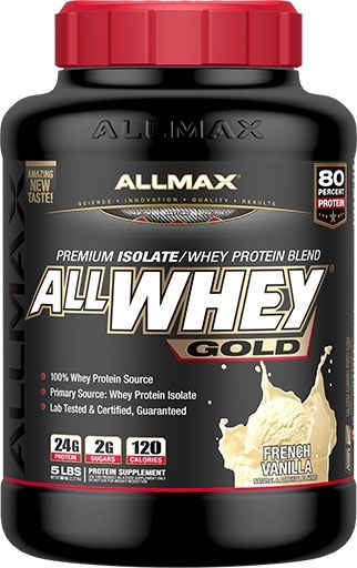 AllWhey Gold, By Allmax Nutrition, Vanilla, 5lb
