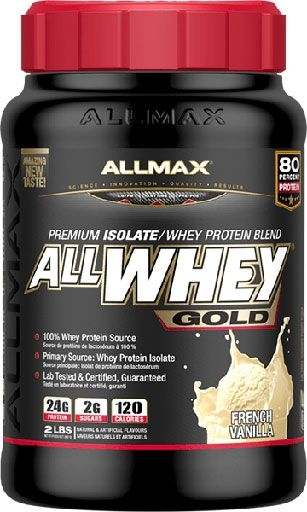 AllWhey Gold, By Allmax Nutrition, Vanilla, 2lb