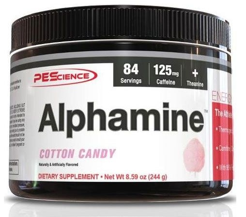 PEScience Alphamine - Cotton Candy