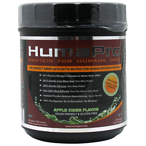 HumaPro, By ALRI, Apple Cider, 60 Servings,