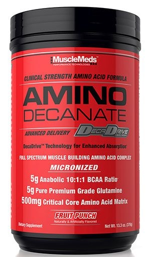 Amino Decanate By MuscleMeds, Fruit Punch, 30 Servings