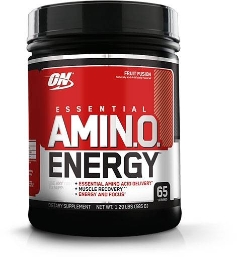 Amino Energy - Fruit Fusion - 65 Servings