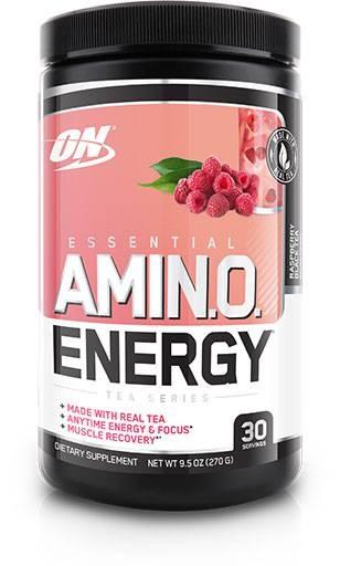 Amino Energy - Raspberry Black Tea - 30 Servings