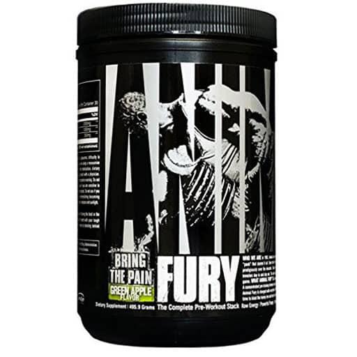 Animal Fury Pre Workout - Green Apple - 5 Servings