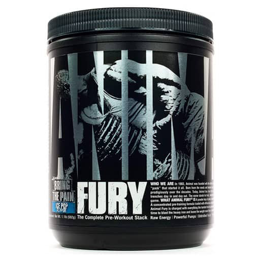 Animal Fury Pre Workout - Ice Pop - 30 Servings