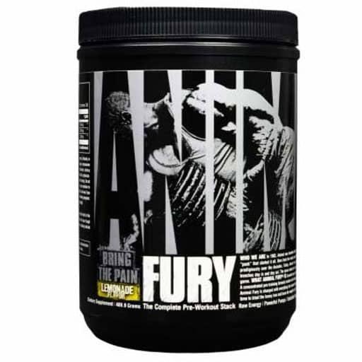 Animal Fury Pre Workout - Lemonade - 30 Servings