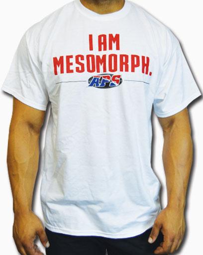 APS Nutrition, I Am Mesomorph, X-Large, T-Shirt,