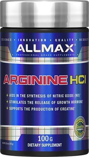 Arginine Powder By Allmax Nutrition, 100 Grams