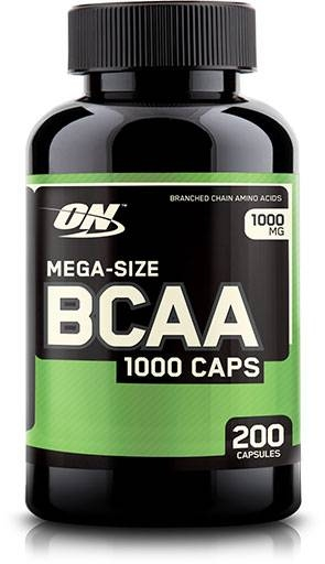 BCAA By Optimum Nutrition, 1000 mg 200 Caps