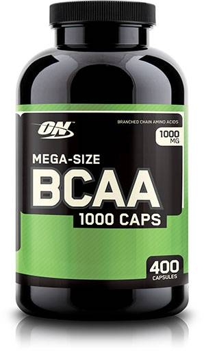 BCAA By Optimum Nutrition, 1000 mg 400 Caps