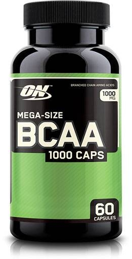 BCAA By Optimum Nutrition, 1000 mg 60 Caps