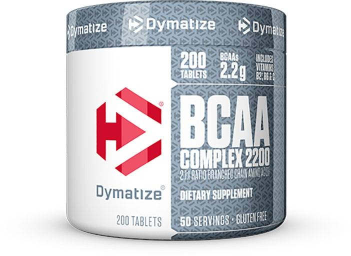 BCAA Complex 2200 By Dymatize Nutrition, 200 Caplets