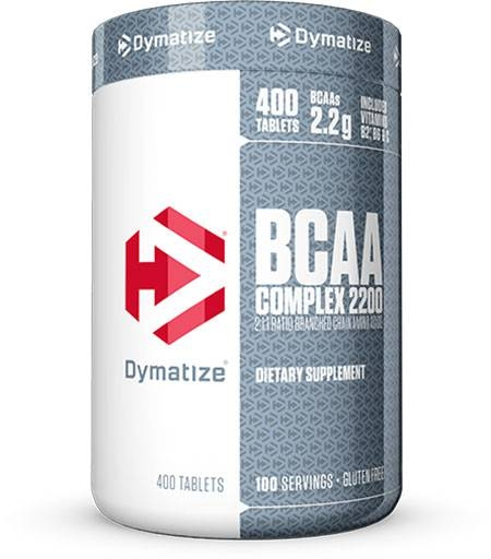 BCAA Complex 2200 By Dymatize Nutrition, 400 Caplets