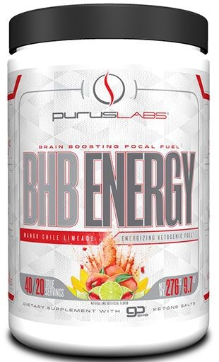 BHB Energy By Purus Labs, Mango Chile Limeade, 40 Servings