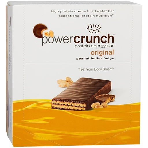 Power Crunch Bars By BNRG, Peanut Butter Fudge 12/Box