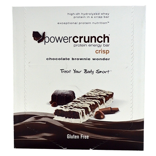 Power Crunch Bars By BNRG, Chocolate Brownie Wonder 12/Box