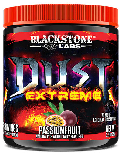 Dust Extreme, By Blackstone Labs, Passionfruit, 25 Servings