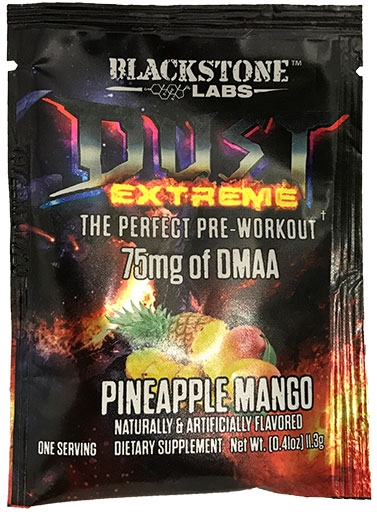 Dust Extreme, By Blackstone Labs, Pineapple Mango, Sample Pack