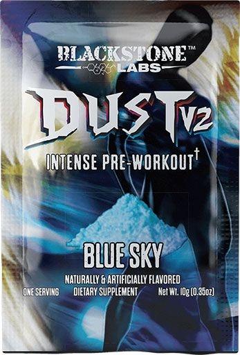 Dust V2 Pre Workout - Blue Sky - Sample