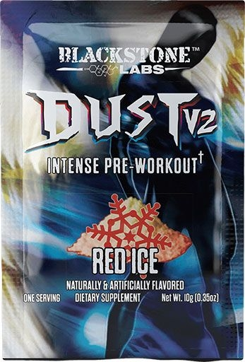 Dust V2 Pre Workout - Red Ice - Sample
