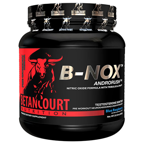 Bullnox Androrush by Betancourt Nutrition, Blue Raspberry, 35 Servings