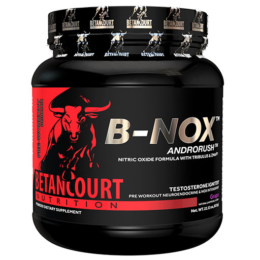 Bullnox Androrush by Betancourt Nutrition, Grape, 35 Servings