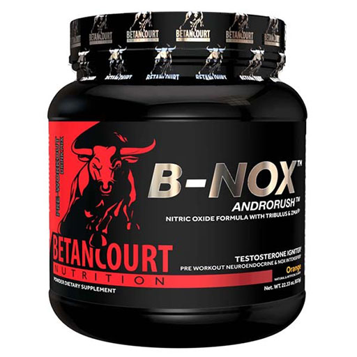 Bullnox Androrush by Betancourt Nutrition, Orange, 35 Servings