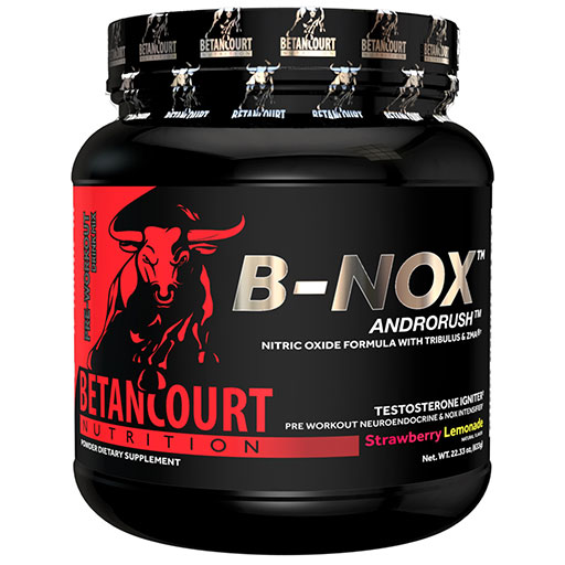 Bullnox Androrush by Betancourt Nutrition, Strawberry Lemonade, 35 Servings