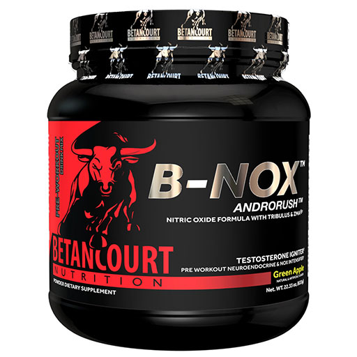 Bullnox Androrush By Betancourt Nutrition, Green Apple, 35 Servings