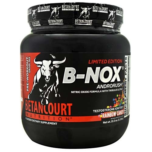 Bullnox Androrush By Betancourt Nutrition, Rainbow Candy, 35 Servings