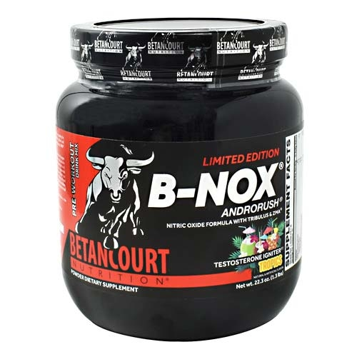 Bullnox Androrush By Betancourt Nutrition, Tropics, 35 Servings