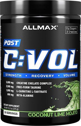 C-VOL, Cremagnavol, By AllMax Nutrition, Coconut Lime Mojito, 30 Servings,