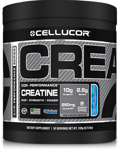 Creatine By Cellucor, COR-Performance Series, Blue Raspberry 30 Servings
