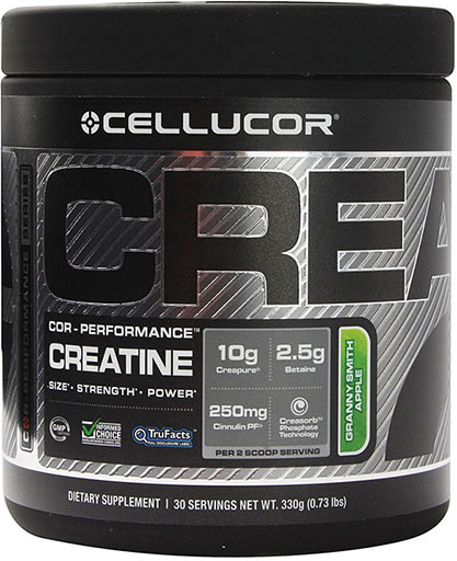 Creatine By Cellucor, COR-Performance Series, Granny Smith Apple 30 Servings