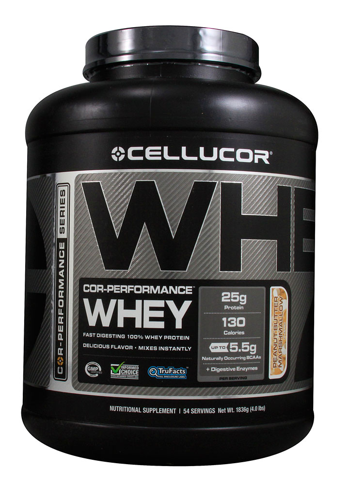 COR-Performance Whey By Cellucor, Peanut Butter Marshmallow 4lb